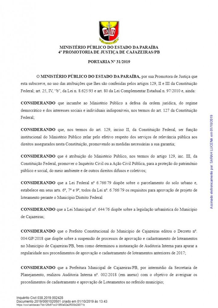 download 4 - HERANÇA REVISTA: Promotora abre três inquéritos para investigar construções irregulares em gestão passada de Cajazeiras