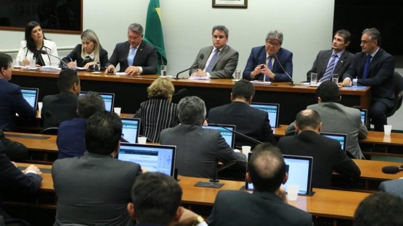 efraim bancadapb e1572005549420 - R$71 MILHÕES PARA OBRAS PRIORITÁRIAS: Efraim Filho juntamente com bancada da Paraíba, definem emendas à LOA para 2020