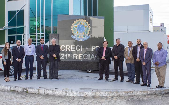equipe creci pe CRECIPB - Práticas de gestão do Creci-PB são referência para outros Regionais
