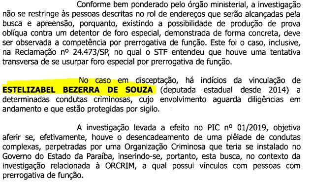 estela bezerra 1 - OPERAÇÃO CALVÁRIO: Veja o documento que colocou Estela Bezerra na mira da Calvário