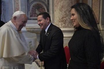 general mourão papa francisco - SAÍDA DIPLOMÁTICA: Mourão compartilha anedota de encontro com o Papa Francisco em Roma