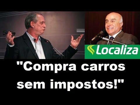 'NÃO PAGA IMPOSTOS': Ciro Gomes denuncia empresa de Salim Mattar, atual secretário de Bolsonaro; VEJA VÍDEO