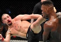 Após perda de cinturão do UFC, Whittaker analisa derrota para Adesanya: 'Senti que estava controlando, mas fui pego'