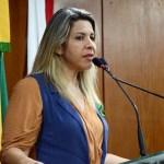 juliana santos eliza virginia cmjp - Vice-presidente da CMJP, Eliza Virgínia solicita mudança no trânsito em trecho no bairro do Valentina