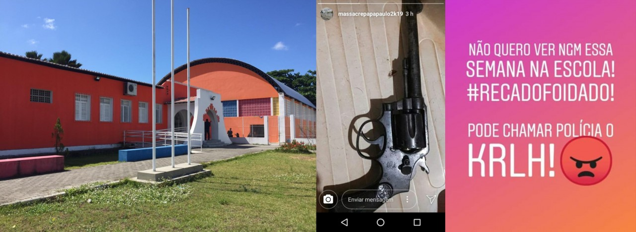 papa paulo - MASSACRE PAPA PAULO: Perfil de Instagram anuncia ataque a escola no bairro de Cruz das Armas - ENTENDA