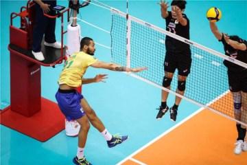 rysy58m - Brasil chega invicto ao tri na Copa do Mundo de Vôlei Masculino