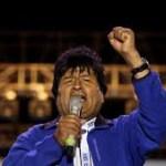 transferir 1 2 - Evo Morales é reeleito presidente da Bolívia em primeiro turno