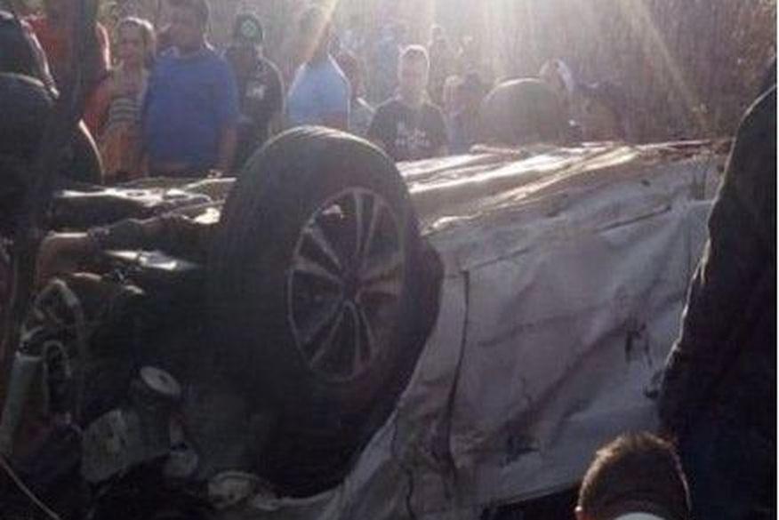 vitimas acidente curral velho 1 - Duas pessoas morrem em grave acidente de carro no Sertão da Paraíba
