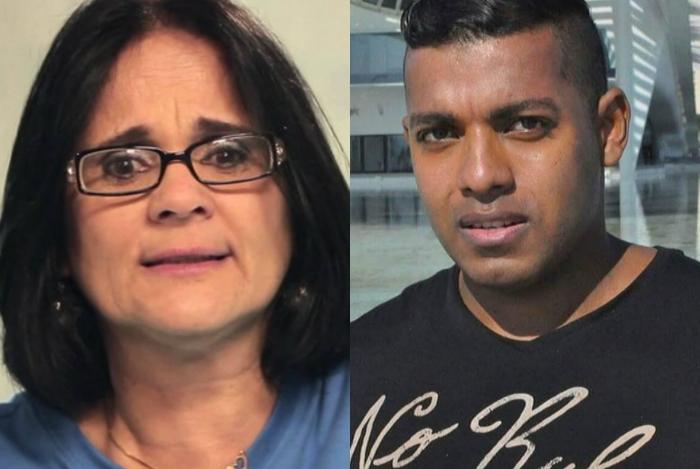 1 collage 14169593 - Romance no Tinder: Funkeiro quer conhecer melhor ministra Damares Alves