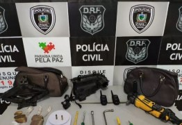 Dupla é presa suspeita de desmanche e clonagem de veículos em Campina Grande