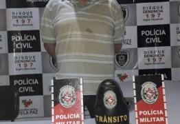 Pai é preso e filho apreendido após perseguição policial em Catolé do Rocha
