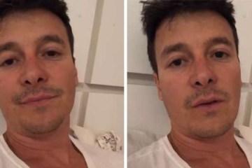 20191120181942624349a - Doente e abatido, Rodrigo Faro desabafa sobre afastamento da TV