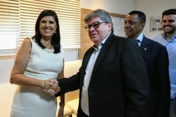 Lígia Feliciano assume governo do estado durante viagem de João Azevedo à Europa