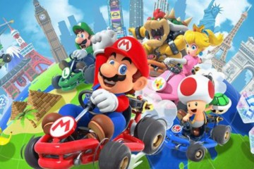 5dbdd6d694625 - Mario Kart Tour ganhará multiplayer online em caráter de teste em dezembro