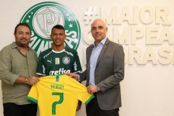 5dd6df30a032c - Palmeiras renova contrato com Veron até 2024; multa é de R$ 279 milhões