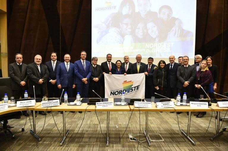 89367b8e a78c 4f3a a5e4 78f4901ba4f6 - Na França, governadores do Nordeste apresentam oportunidades de negócios a 40 empresas