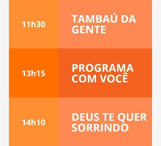 89fb9a38 22cb 4d05 a708 456ec4bcb365 e1572895446960 - NOVAS AQUISIÇÕES: TV Tambaú estreia nova programação com Erly do povo, Karine Tenório e Fernanda Albuquerque