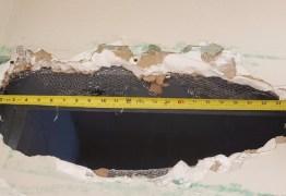 SAÍDA SURPREENDENTE! Presos fogem de prisão por buraco de 56 cm no teto