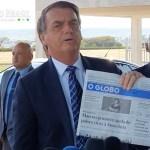 Bolsonaro evita papo com jornalistas apos atrito envolvendo Merval - Federação Nacional de Jornalistas emite nota e diz que MP de Bolsonaro age para 'destruir o jornalismo'