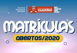 Secretaria de Educação de Cajazeiras dá continuidade a matrículas de alunos na rede municipal