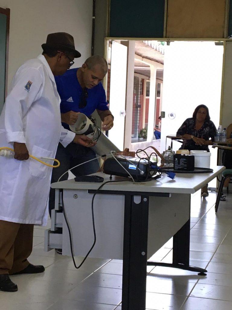 Capacitação Malária 2 768x1024 - ACE e ACS da Prefeitura de Conde participam de capacitação sobre a malária