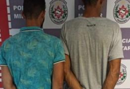 Dupla é presa suspeita de tráfico de drogas em João Pessoa