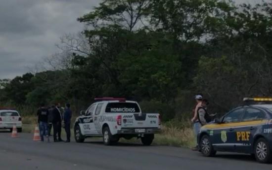 Família reconhece corpo de jovem encontrada morta com feto arrancado às margens da BR-230