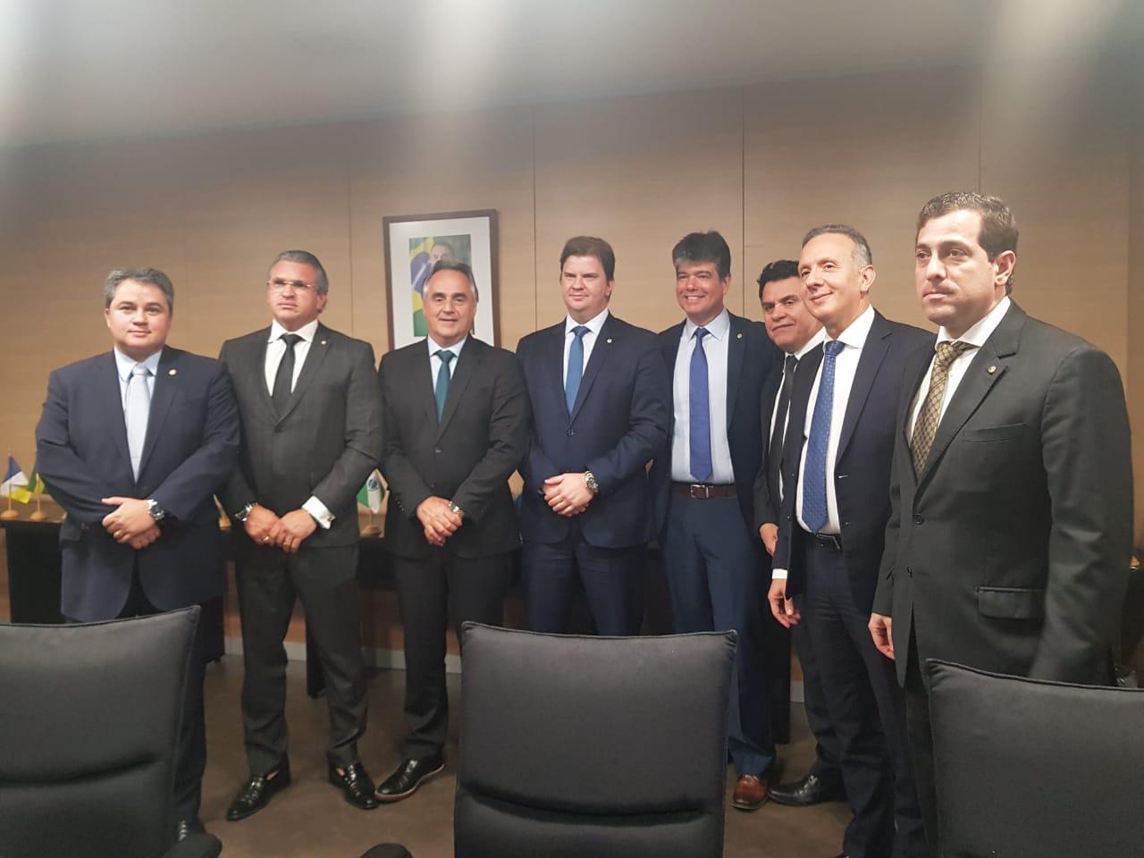 Cartaxo 1 - Cartaxo e bancada federal participam de reunião no Ministério do Desenvolvimento Regional