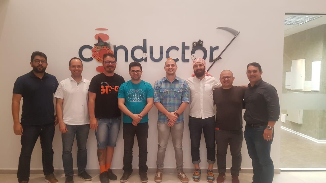Extremotec Secitec durante reunião com CEOs da OnovoLab - Centro de inovação de São Paulo estuda expandir e instalar um núcleo em João Pessoa