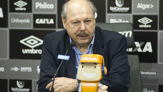 Jose Carlos Peres entrevista coletiva 720 Ivan Storti SantosFC - Empresário confirma sondagem do Santos para contratar destaque do Brasileirão
