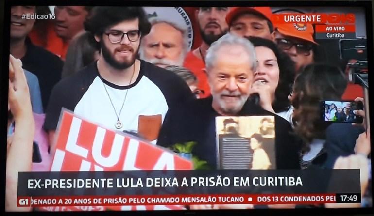 Lula 3 - Justiça determina soltura do ex-presidente Lula da Silva