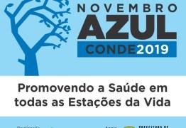 NOVEMBRO AZUL: Conde inicia campanha voltada para a saúde do homem