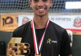Paraibano é campeão de Taekwondo na maior competição poliesportiva