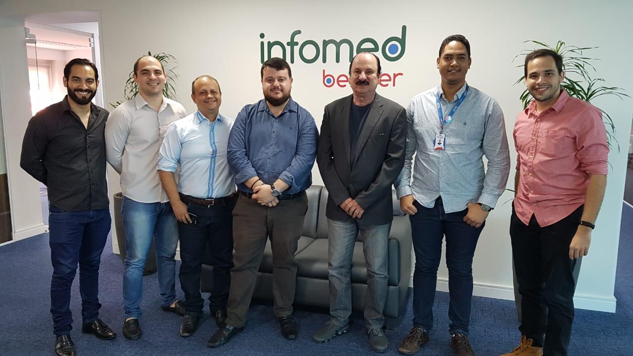 Reunião da Secitec na Infomed - Secitec visita Infomed, empresa filiada ao Extremotec, para viabilizar parcerias