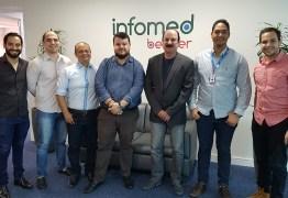 Secitec visita Infomed, empresa filiada ao Extremotec, para viabilizar parcerias
