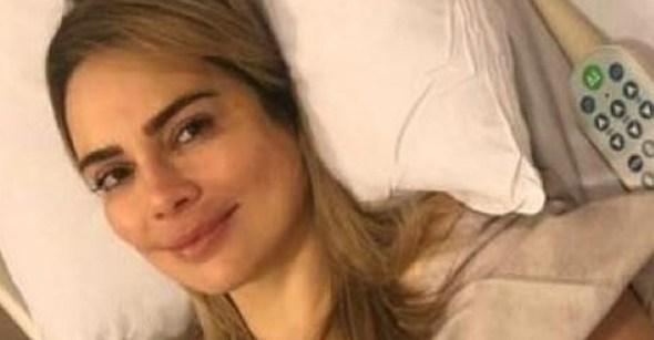 Sheherazade 1 - Rachel Sheherazade é internada em São Paulo e passará por nova cirurgia