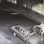 VIDEO - Câmera flagra homem sendo executado dentro de carro - VEJA VÍDEO