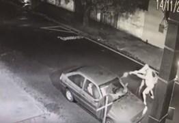 Câmera flagra homem sendo executado dentro de carro – VEJA VÍDEO
