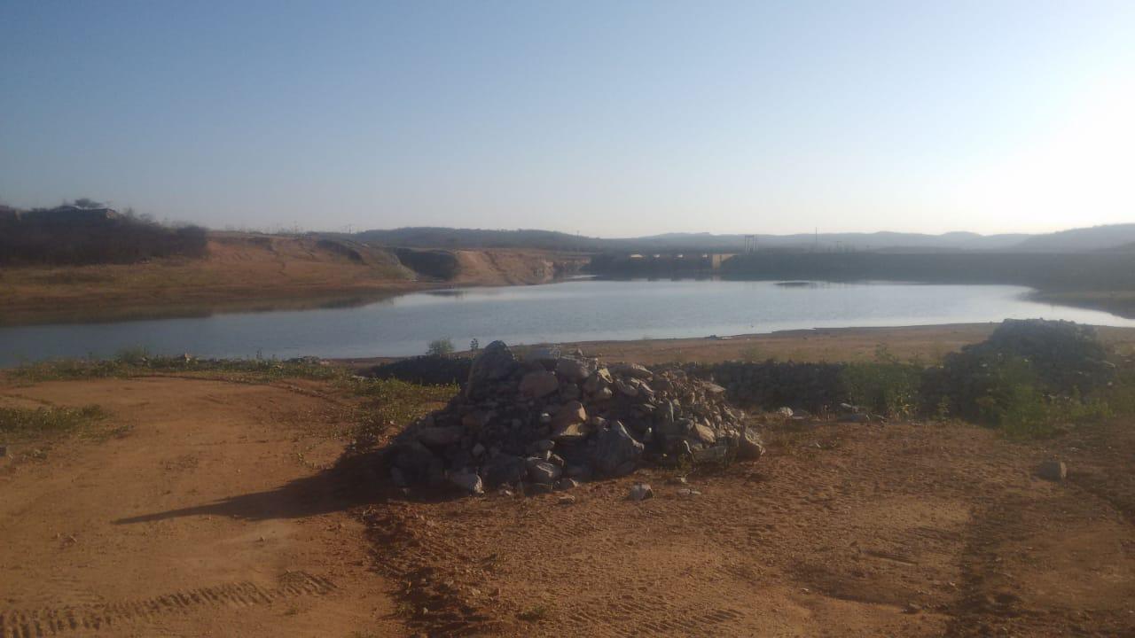 Transposição do São Francisco em Monteiro: Barragem está com o volume baixo para atingir canal e, água não chegará até dezembro de 2019
