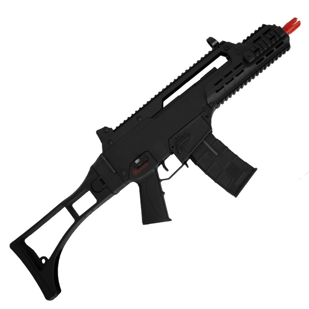 armas rifles eletricos aegs rifle de airsoft aeg g36 333 ics p 1556217709909 - ATIRADOR FANTASMA: Polícia investiga ataques com arma de airsoft na orla de João Pessoa
