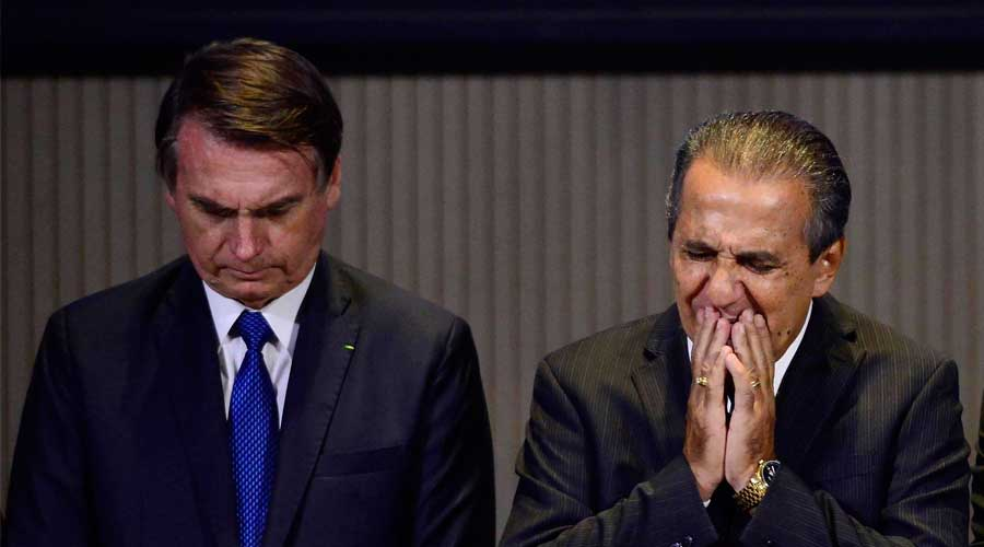 """bolsonaro malafaia - Malafaia: Bolsonaro mandou Onyx oferecer a Magno Malta cargo no Sesi de """"R$ 60 mil de salário, movimenta bilhão - OUÇA"""