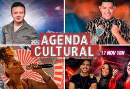 AGENDA CULTURAL: Saiba os eventos que agitam o feriadão em João Pessoa