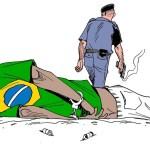 charge Latuff - Reação de deputado ao atacar obra prova que charge estava certa, diz cartunistaCarlos Latuff