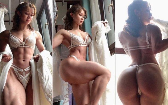 Fisiculturista dribla proibição no Instagram e bomba com fotos sensuais