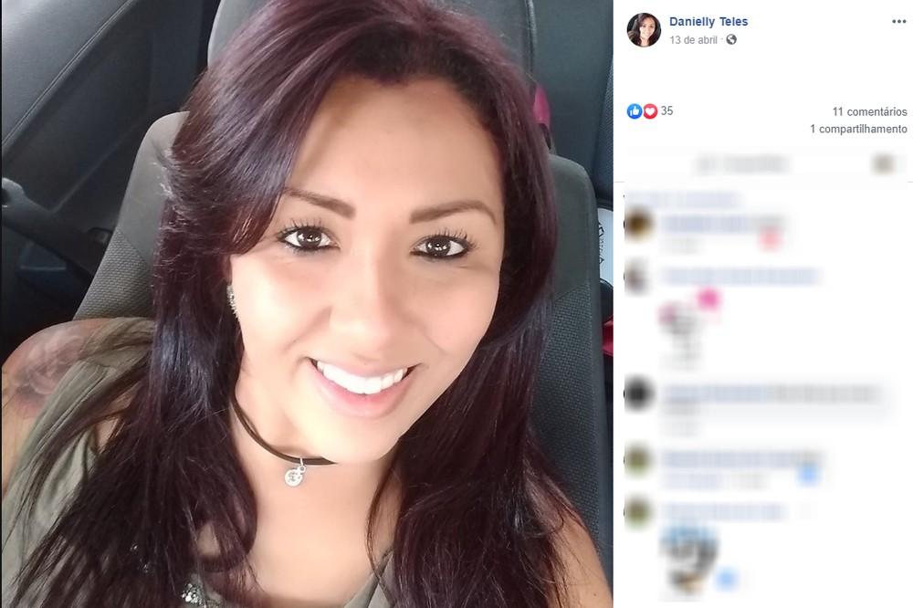 danielly - ATACADA E MORTA: Mulher de 25 anos é assassinada com várias facadas quando tomava sorvete na praça