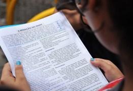 Medo da censura: estudantes evitaram opiniões polêmicas na Redação do Enem para não perder pontos