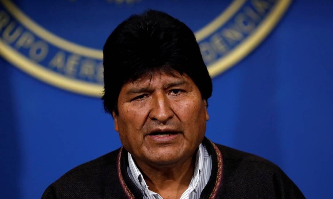 evo morales - Evo Morales renúncia a presidência da Bolívia e ataca adversários políticos em último discurso- VEJA VÍDEO