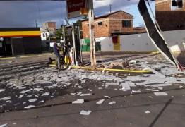GANGUE DA DINAMITE: criminosos explodem cofre de posto de combustível no bairro do Cristo