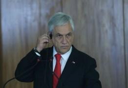 Presidente chileno é acusado de crimes contra a humanidade