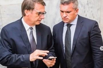 "julian e bolsonaro2 - Julian Lemos ressalta lealdade ao presidente Bolsonaro, mas aponta limite: ""Se mexer na minha honra"""